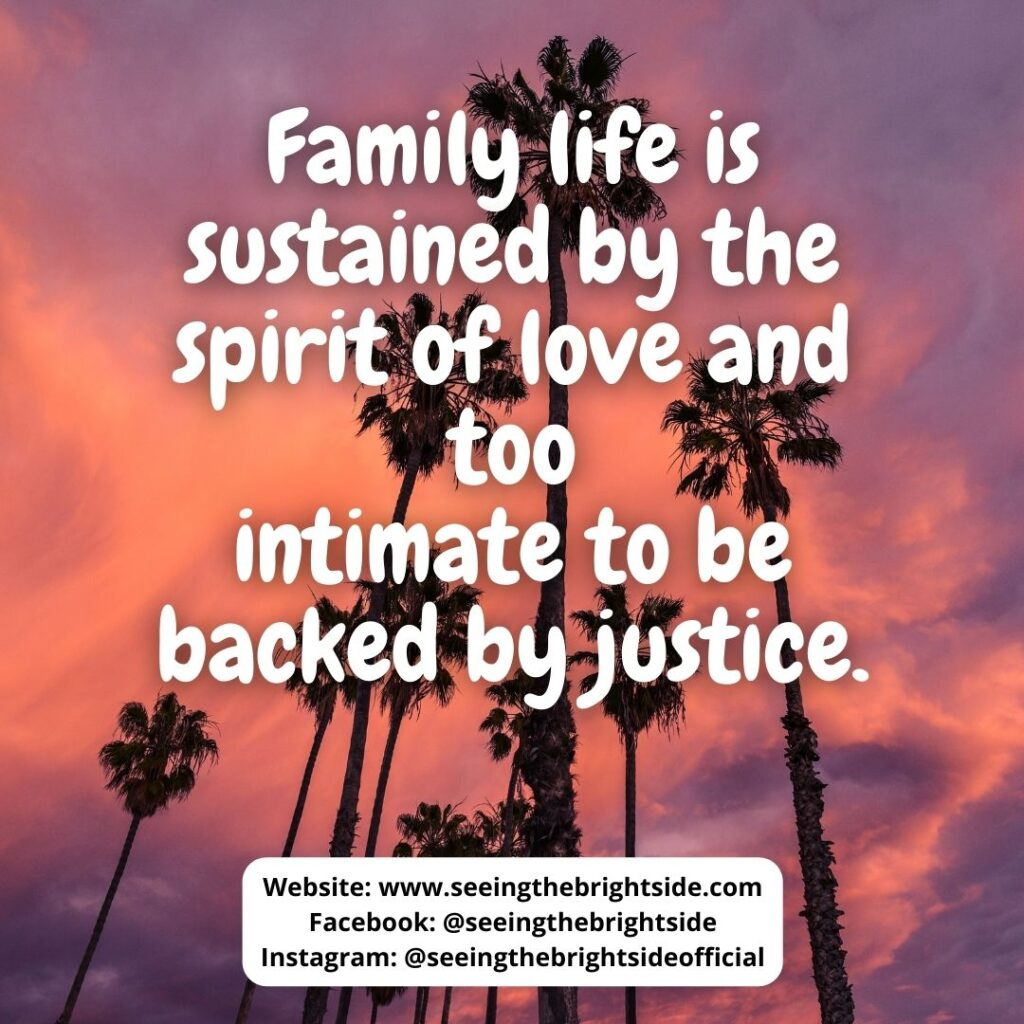 Quote Love your family