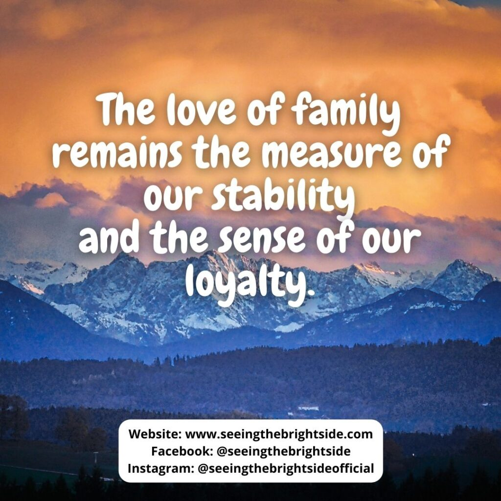 A family love quotes