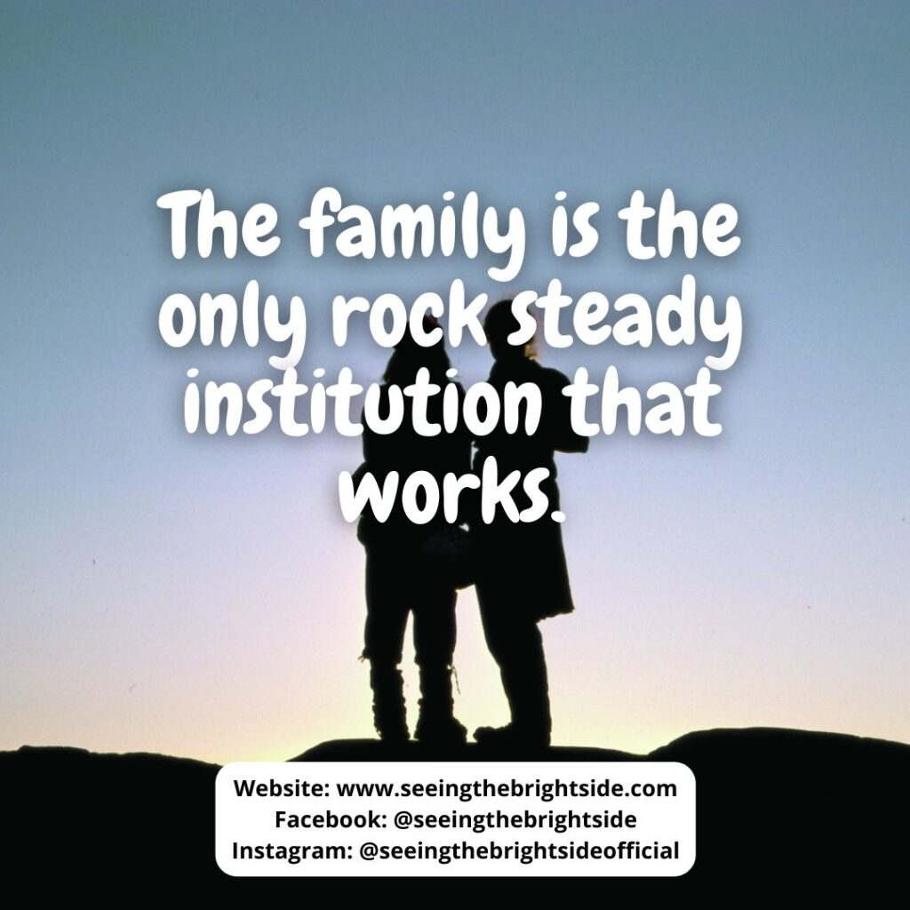 Love Quote about Family