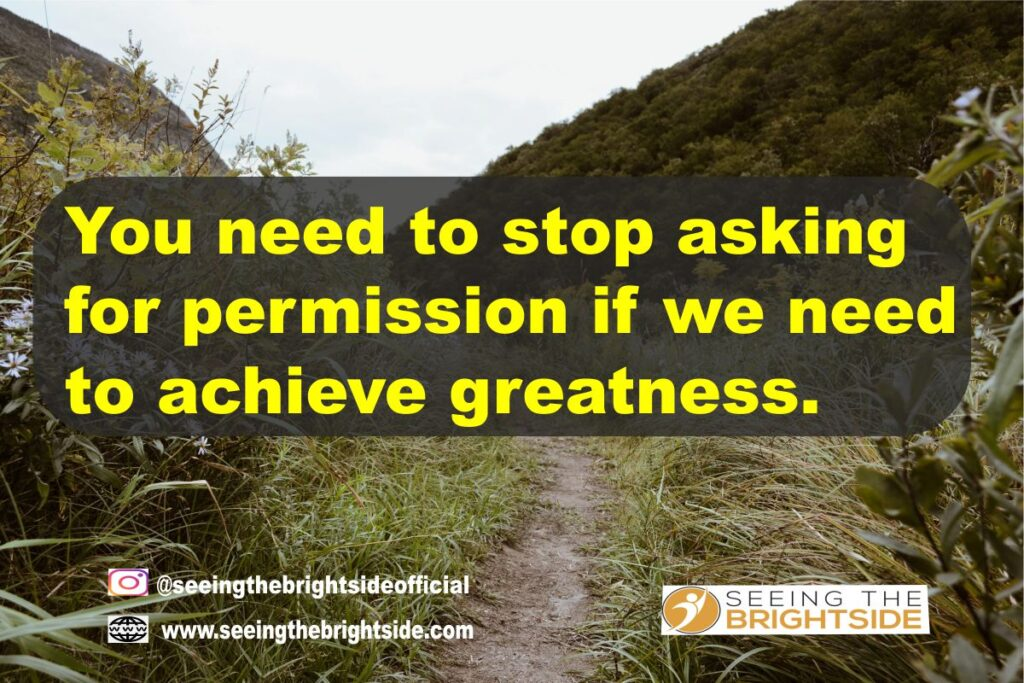 Greatness within quotes